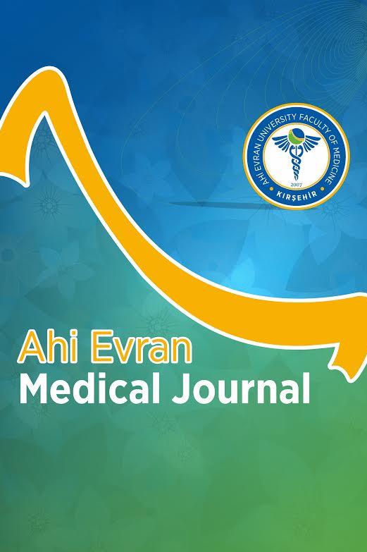 Ahi Evran Tıp Dergisi