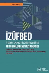 İstanbul Sabahattin Zaim Üniversitesi Fen Bilimleri Enstitüsü Dergisi