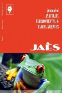 Journal of Anatolian Environmental and Animal Sciences