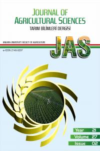 Tarım Bilimleri Dergisi